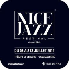 Opération de street marketing pour le NICE JAZZ FESTIVAL. Dessous de verre pour les restaurateurs / bars / brasseries Niçoises