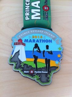 Race Medals — Embrace Running Red Sand Beach, Prince Edward Island, Place Names, Marathon, Racing, Toad, Running, Marathons, Auto Racing