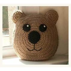 Almohadones Infantiles Tejidos A Crochet Niño Niña Artesanal - $ 250,00