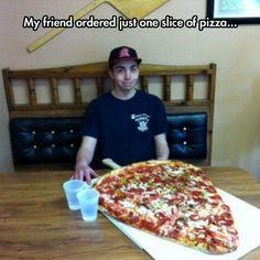 Just one slice...