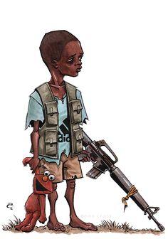 Child Soldier by CrimsonMagpie
