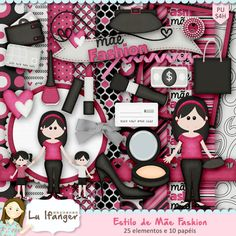 Digital Kit Mother Style Fashion by Lu Ifanger