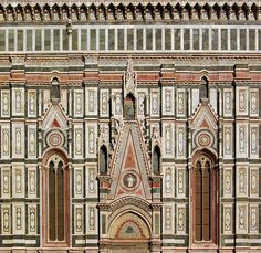 Gothic patterns of the Duomo