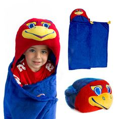 My kids will obviously have these...they'll be Jayhawks from the day they're born.