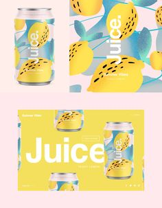 Branding that The Indie Practice love! Juice Packaging, Beverage Packaging, Bottle Packaging, Brand Packaging, Dessert Packaging, Web Design, Label Design, Logo Design, Corporate Design