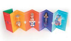 Contoh Desain Brosur Pop Up Kreatif Atraktif - Desain Brosur Pop Up - San Francisco Ballet Brochure Pamphlet Design, Leaflet Design, Booklet Design, Flyer Design, Mailer Design, Corporate Design, Pop Up 3d, Brochure Folds, Brochure Ideas