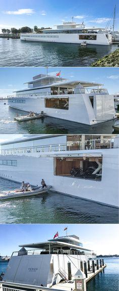 Steve Jobs Yacht VENUS In San Diego March 24 1017 Designed By