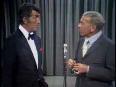 Dean Martin and George Burns