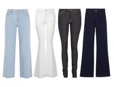 If the spring shows are any indication, denim is infiltrating just about every clothing category. Some of it is hands-down crazy, and some offer a great update to your knock-around-on-the-weekend skinny jeans. Here, the denim trends we're buying into, and some tips on making them work with your existing wardrobe. on goop.com. http://goop.com/the-new-denim/