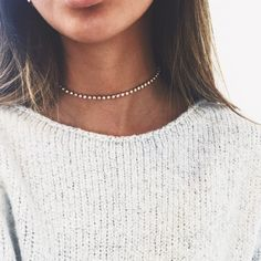 A GIRL'S BEST FRIEND CHOKER - STARGAZE JEWELRY