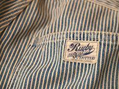 Rugby / Railroad Stripes Jean