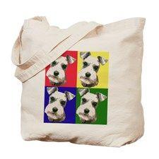 Mini Schnauzers Bags & Totes | Personalized Mini Schnauzers Reusable Bags - CafePress
