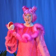 I think I see Kangaroo in Purple. Queen of the Jungle. sour kangaroo costume seussical - Google Search