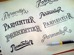 Parmentier-lettering