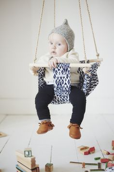 Little flow Navajo, €69.00 by L'attrape rêves Navajo, Bassinet, Baby, Furniture, Home Decor, Style, Decoration, Wood Interiors, Game Room