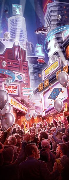 And another sneak peak at the publishing-soon Shadowrun: Market Panic art, this one by Victor Moreno. Enjoy! Randall