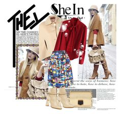 """""""SheIn Contest"""" by tihana1 ❤ liked on Polyvore featuring moda, Jimmy Choo, Missoni, Chicwish y Burberry"""