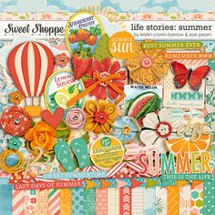 Life Stories: Summer by Kristin Cronin-Barrow & Zoe Pearn $8.99 http://www.sweetshoppedesigns.com/sweetshoppe/product.php?productid=25863