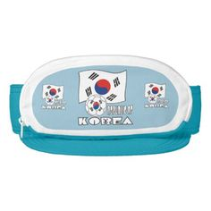 Republic of Korea (South) Soccer Ball and Flag Visor