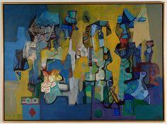 """Guaratiba"" by Roberto Burle Marx, 1989."