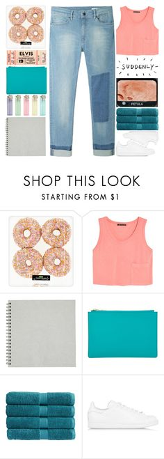 """usernames rtd"" by ginga-ninja ❤ liked on Polyvore featuring MANGO, Whistles, Christy, adidas Originals, GET LOST and Hope"