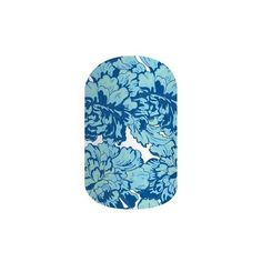 Jamberry Nail Wraps (22 NZD) ❤ liked on Polyvore featuring beauty products, nail care, nail treatments and something blue matte