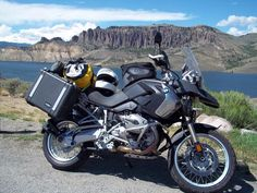 BMW R1200GS & Adventure Caribou 35 Liter Storm Side Luggage Pannier System