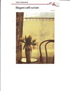 Crocheted Lace Curtains - diamondinapril - Álbumes web de Picasa