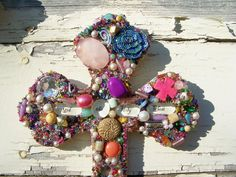 Beautiful Treasure Cross God the Holy Ghost by TheQueensDaughters, $25.00