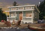 Plan Great Escape House Plan - The House Designers, LLC