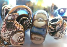 Trollbeads Fish are among their most finely detailed and lovely silver designs...