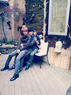 Minwoo, Heecheol, Dongjun, Siwan