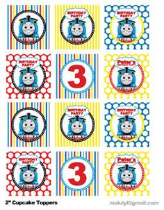 great thomas cupcake toppers