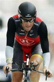Lance Armstrong says he is finished fighting a barrage of drug charges from the U.S. Anti-Doping Agency, putting his seven Tour de France titles at risk. (via AP)