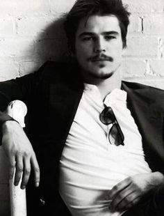 Josh Hartnett. not sure about the plumbing armrest, but A+ for everything else