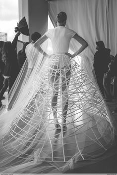 Kristina GromStephane Rolland - Paris Fashion Week HC SS15