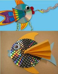 Rainbow fish from cds
