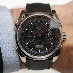 Parmigiani Fleurier Bugatti Aerolithe Performance Titanium Watch Hands-On