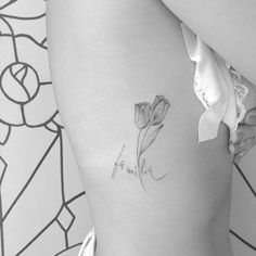Tulips • #inkstinctsubmission #tattrx #equilatera