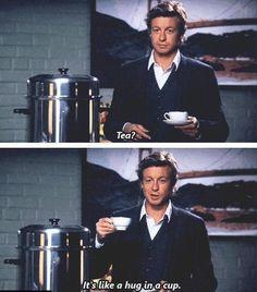 The mentalist :) Tea with Patrick Jane