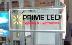 Multi Color LED Edge-lit Sign