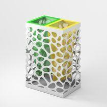 poubelle de tri sélectif pour espaces publics PEBBLES MAXI LAB23
