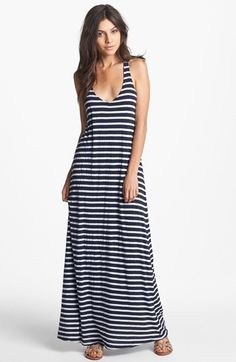 Splendid+Stripe+Maxi+Dress+available+at+#Nordstrom
