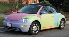 Slug Bug - who knew that kids would still be playing this game after so many decades!