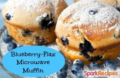 WHERE HAVE YOU BEEN ALL MY LIFE?! One-Minute Microwave Muffin Recipe