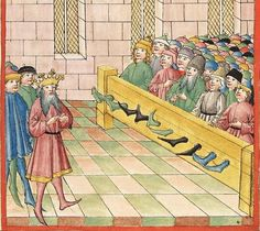 Bibel AT, dt.: Könige, Paralipomenon I und II, Esra, Tobias, Judith, Esther, Hiob — Stuttgart (?) -  Werkstatt Ludwig Henfflin, 1477 Cod. Pal. germ. 17 Folio 233r