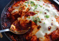 So good! :D Buldak with cheese (치즈불닭)