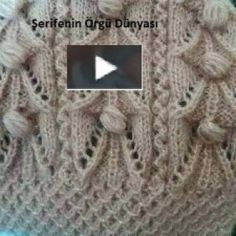 This Pin Was Discovered By Fun - Diy Crafts - Qoster Diy Crafts Knitting, Diy Crafts Crochet, Easy Knitting Patterns, Knitting Designs, Knitting Stitches, Knitting Projects, Baby Knitting, Stitch Patterns, Crochet Patterns