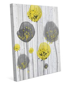 Look at this Flower Garden Wall Art on #zulily today!
