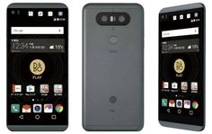 LG just launched a 5.2-inch water-resistant V20 in Japan called the V34 #DigitalGuruShop